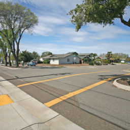 City of Rocklin Safe Routes to School ADA crosswalk