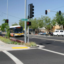 City of Sacramento Del Paso Boulevard streetscape ADA sidewalk improvements landscaping bus