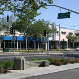 City of Sacramento Del Paso Boulevard streetscape sidewalk improvements median strips