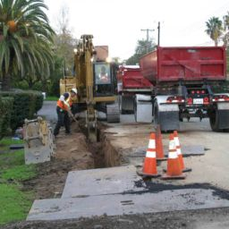 Citrus Heights Water District water main replacement construction