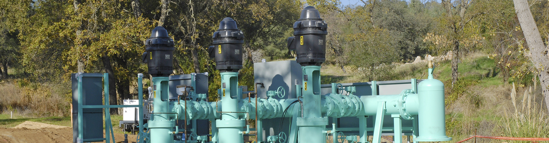 Butler Circle Pump Station | Placer County Water Agency Vertical Turbine Pump Station