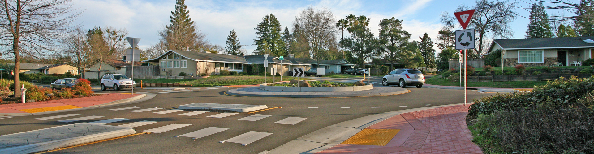 Citrus Heights Traffic Circle Engineering