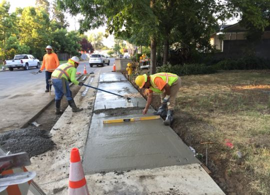 Biggs Safe Routes to School Sidewalk Construction