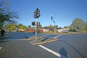 Cordova Park Safe Routes to School Project Intersection Photo