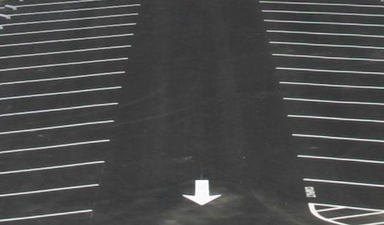 Diagonal Striped Parking Lot