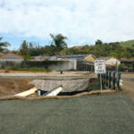 Pipeline crossing canal